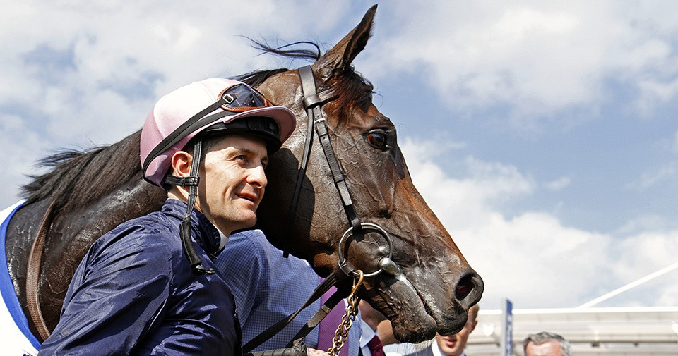 SEVENTH HEAVEN (Colm O'Donoghue) after The Darley Yorkshire Oaks