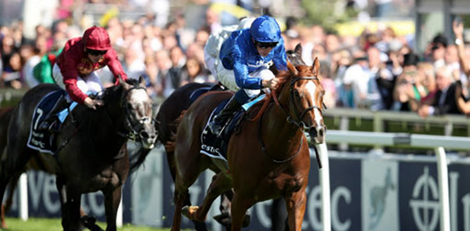 Masar wins the Investec Derby