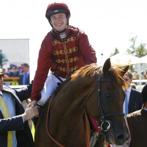 Lightning Spear wins the Qatar Sussex Stakes
