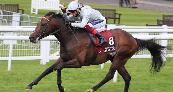 Palace Pier wins the Lockinge Stakes