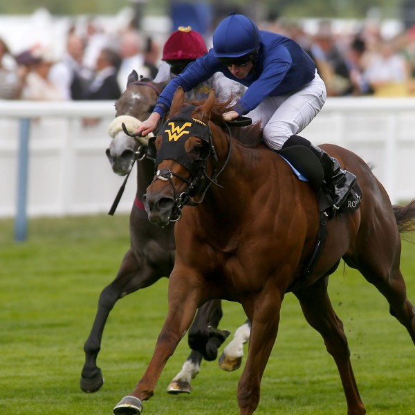 """Acapulco and Ryan Moore  winning The Queen Mary Stakes Royal Ascot 17.6.15 Pic Dan Abraham-racingfotos.com  THIS IMAGE IS SOURCED FROM AND MUST BE BYLINED """"RACINGFOTOS.COM"""""""
