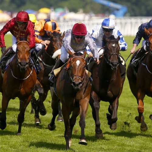 Qemah and Gregory Benoist winning The Coronation Stakes