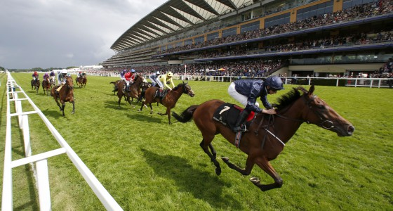 """Even Song and Ryan Moore winning The Ribblesdale Stakes  Royal Ascot 16.6.16 Pic Dan Abraham-racingfotos.com  THIS IMAGE IS SOURCED FROM AND MUST BE BYLINED """"RACINGFOTOS.COM"""""""