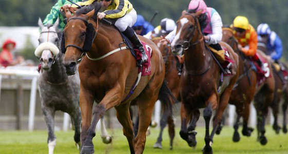 """Big Orange and James McDonald winning The Princess Of Wales's Arqana Racing Club Stakes Newmarket 7.7.16 Pic Dan Abraham-racingfotos.com  THIS IMAGE IS SOURCED FROM AND MUST BE BYLINED """"RACINGFOTOS.COM"""""""