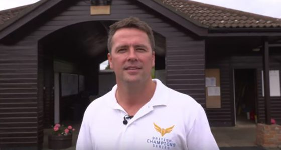 Michael Owen learns to ride a racehorse with Ryan Moore