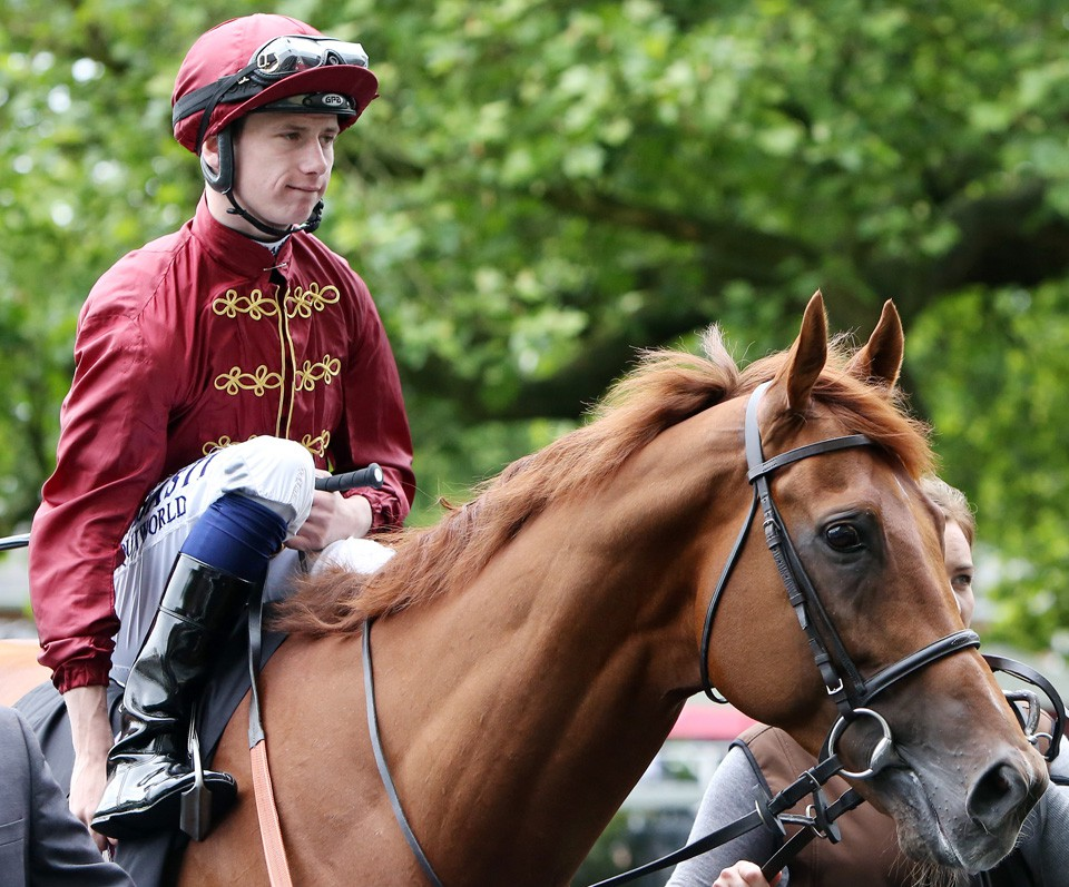 "14.06.2016, Royal Ascot, GB, Lightning Spear with Oisin Murphy up. Photo FRANK SORGE/Racingfotos.com  THIS IMAGE IS SOURCED FROM AND MUST BE BYLINED ""RACINGFOTOS.COM"""