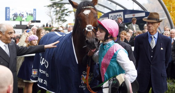 Frankel wins on #ChampionsDay