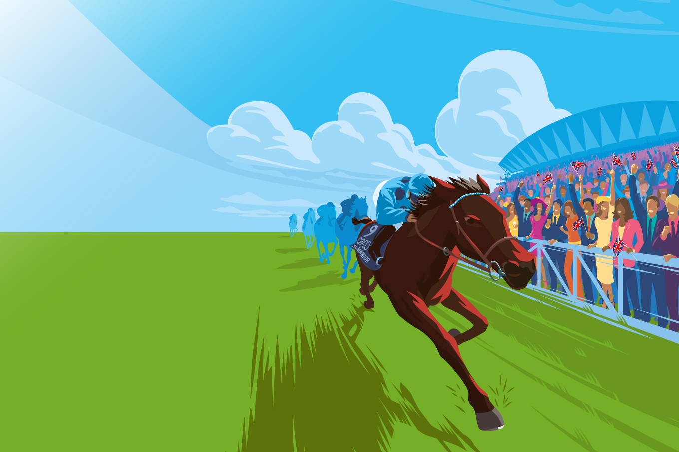 British Champions Day Artwork