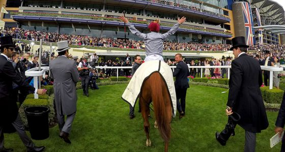 Frankie Dettori winner Royal Ascot