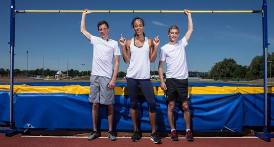 Katarina Johnson-Thompson Harry Bentley Jams Doyle