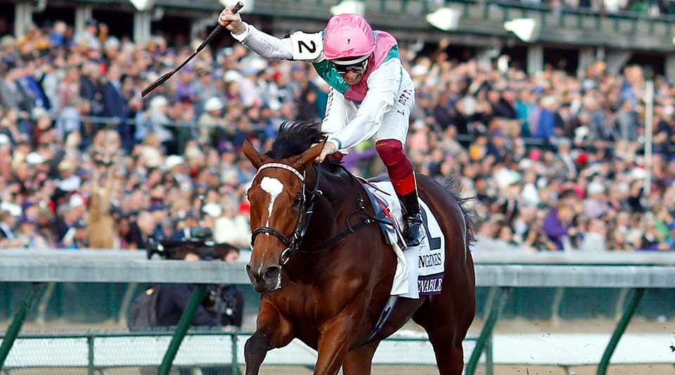 ENABLE (Frankie Dettori) wins The Breeders' Cup Turf