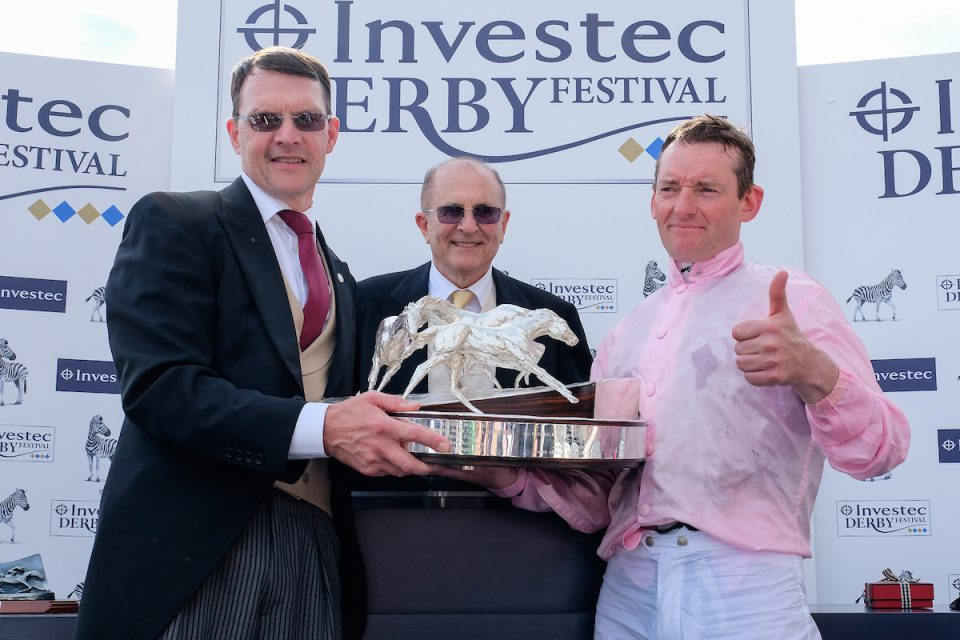 Aidan O'Brien wins the Investec Derby with Anthony Van Dyke and Seamie Heffernan aboard