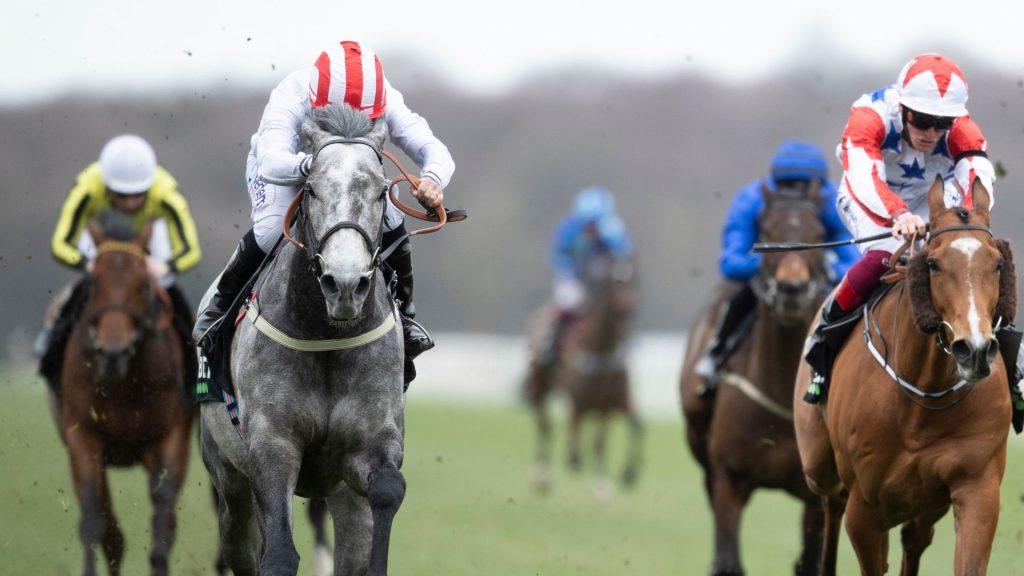 Top Rank wins the Doncaster Mile under PJ Mcdonald