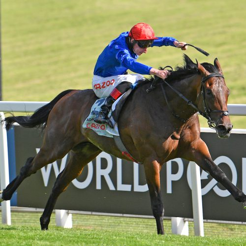 Adayar and Adam Kirby win the Cazoo Derby at Epsom