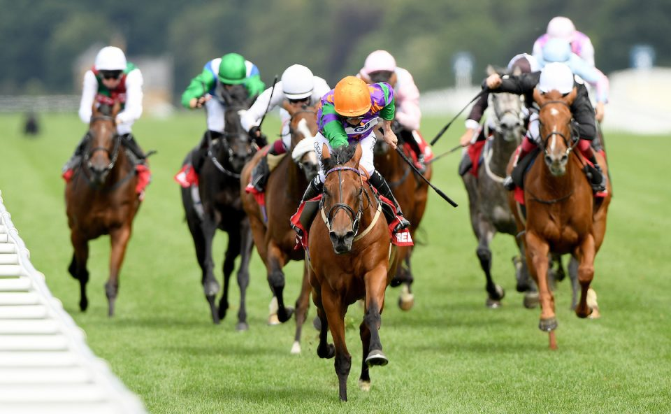Lady Bowthorpe is declared for the Nassau Stakes