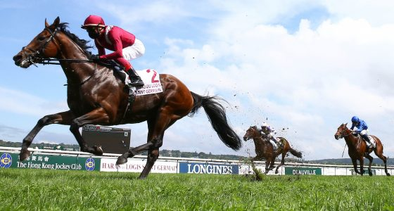 Mishriff wins in France, David Egan will be back in the saddle on Saturday