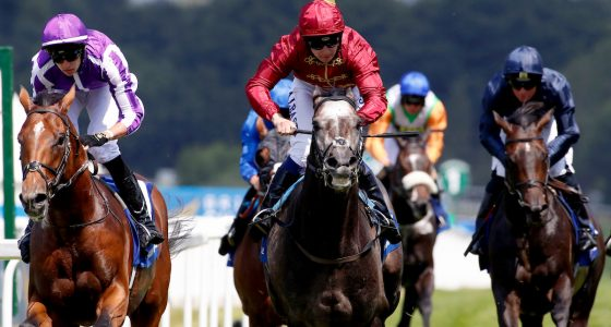 Roaring Lion wins the Coral Eclipse