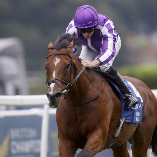 St Mark's Basilica winning the Coral-Eclipse