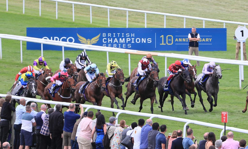 Starman cuts through the field to land the Darley July Cup